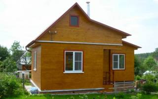 Как быстро построить дачный домик своими руками
