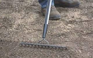 Подготовка грунта под газон