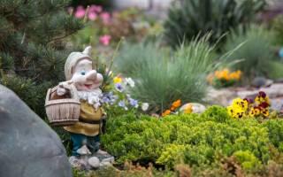 Садовые фигурки для дачи своими руками