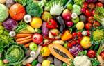 Что относится к овощам список