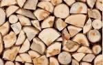 Как хранить дрова на дачном участке