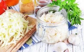 Что делать если пересолила капусту при засолке