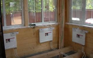 Отопление на даче своими руками технология монтажа