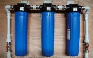 Фильтр для воды проточный магистральный какой лучше