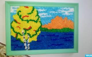 Осеннее панно своими руками для детского сада